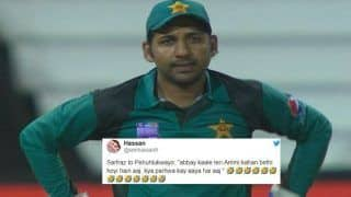 South Africa vs Pakistan 2nd ODI: Sarfaraz Ahmed Makes Racist Comments on Andile Phehlukwayo During The 2nd ODI | WATCH