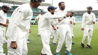 India vs Australia 4th Test Sydney: Cheteshwar Pujara Can't Dance But Inspires Rishabh Pant to Invent a New Step, Gets Virat Kohli's Approval After Historic Win | WATCH