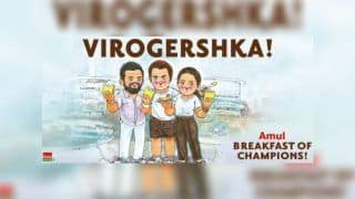 Virat Kohli, Anushka Sharma With Roger Federer at Australian Open Has Become Amul's Latest Viral Meme And it Will Blow Your Mind | PIC