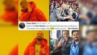 India vs Australia 2018-19 Tests: Head Coach Ravi Shastri Gets TROLLED Brutally For Saying Virat Kohli's Historic Australia Test Series Win is Bigger Than Kapil Dev-Led India's 1983 World Cup Win