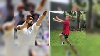 Jasprit Bumrah Reacts to Australian Kid Imitating His Bowling Action Ahead of ODI Series | WATCH