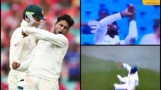India vs Australia 4th Test Sydney: When Hanuma Vihari's Catch Drop of Mitchell Starc Nearly Denied Kuldeep Yadav a Five-Wicket Haul | WATCH