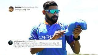 2nd ODI India vs Australia: Twitter Slams Debutant Mohammed Siraj For Ordinary Show in Adelaide, Fans Question BCCI And Virat Kohli For Pacer's Selection in Team India
