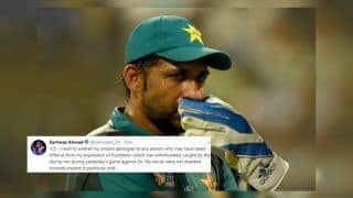 Pakistan Captain Sarfaraz Ahmed Apologises Via Twitter Post, Feels Sorry For Racist Comments on Andile Phelukwayo During 2nd ODI Against South Africa