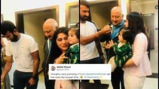India vs Australia: 'Accidental Prime Minister' Promotion Campaign: Why Everyone Thinks Cheteshwar Pujara is Promoting Anupam Kher's Movie