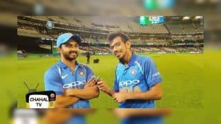 3rd ODI India vs Australia: Kedar Jadhav Reveals Effect of Man of Series MS Dhoni And Believes Yuzvendra Chahal's TV Will go to Moon | WATCH