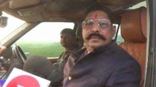 बिहार: बाहुबली निर्दलीय एमएलए अनंत सिंह कांग्रेस के रोड शो में नजर आया