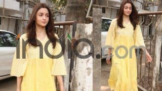 Alia Bhatt Heads to The Salon For Some Self-Pampering Post Wrapping up Kalank