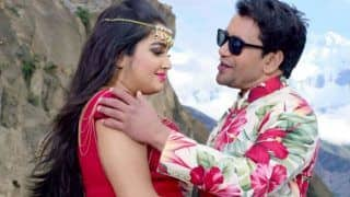 Bhojpuri Hot Rumoured Couple Amrapali Dubey And Dinesh Lal Yadav's Song 'Chehra Tohar' Clocks Over 2 Lakh Views Within 12 Hours - Watch