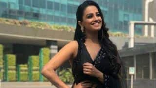 Naagin 3 Fame Anita Hassanandani Looks Uber Hot in Black See Through Saree in Her Latest Sun-kissed Pictures