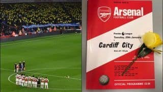 Arsenal Paid Classy Tribute to Cardiff City Missing Striker Emiliano Sala - WATCH