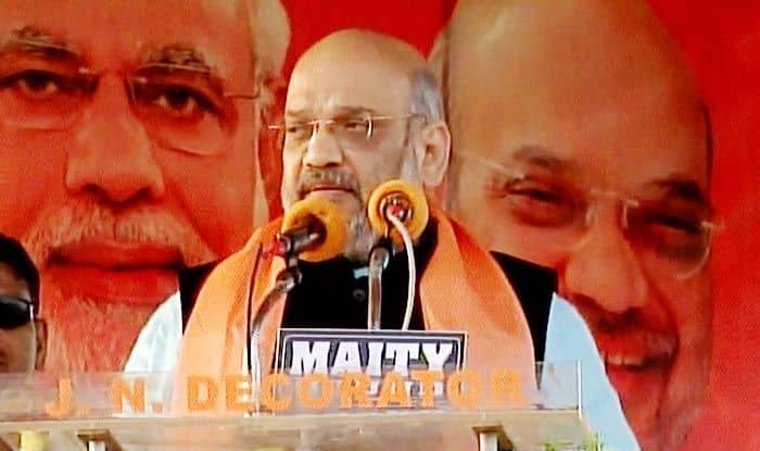 Amit Shah in Cuttack: BJP Chief Comes Down Heavily on CM Naveen Patnaik, Says BJD Govt's 'Inaction' Leaves Odisha Backward