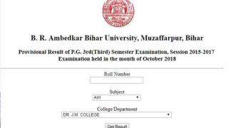 BRABU PG 3rd Semester Provisional Exam Results: नतीजे घोषित, ऐसे चेक करें