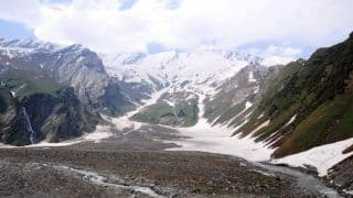 Winter Trekking to The Beas Kund Means Hiking Through a Bed of Snow