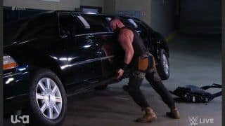 Braun Strowman Faces Fine After Destroying Vince McMahon's Limousine, Loses Championship Match Opportunity Against Brock Lesnar | Watch Video