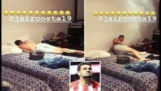'Prankster' Diego Costa Sets Fireworks on His Brother's Bed to Wake Him up | WATCH