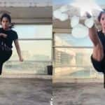 Bollywood Hottie Disha Patani Looks Sexy as She Showcases High-octane Kung-Fu Workout in Her Latest Post - Watch