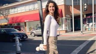 Disha Patani Looks Hot in Most Basic Casual Wear in Her Latest Sun-kissed Picture