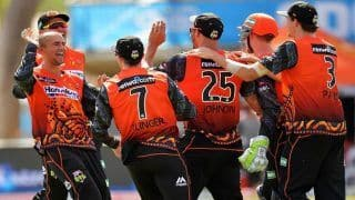 BBL 2018-19 Perth Scorchers vs Sydney Sixers Match 30 Live Cricket Streaming And Updates: Timings, Predicted XI, Fantasy XI, Squads,Online Streaming And Live TV Coverage