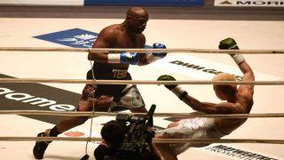 Retired Boxer Floyd Mayweather Thrashes Tenshin Nasukawa, Earns 9 Million in Two Minutes | WATCH