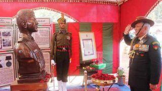 सेना प्रमुख जनरल बिपिन रावत ने अल्बर्ट इक्का के सर्वोच्च बलिदान को याद किया
