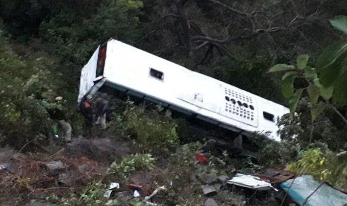 Himachal Pradesh: 26 Injured After Tourist Bus Skids Off Road Near Swarghat in Bilaspur