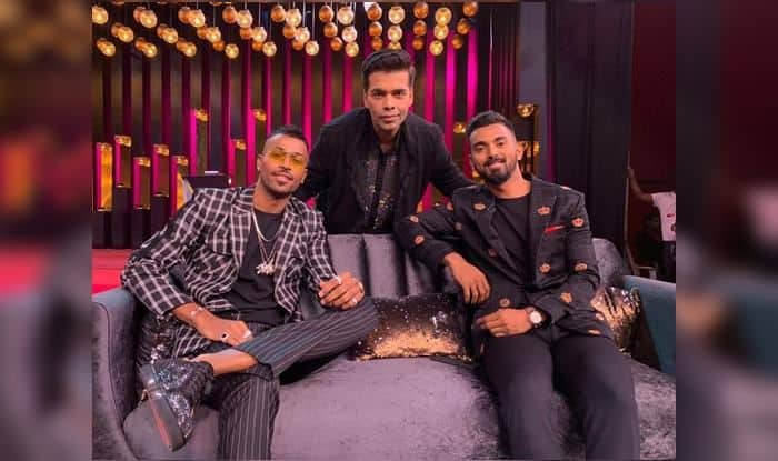 Hardik Pandya, KL Rahul on Koffee with Karan