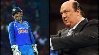 WWE's Paul Heyman Tweets Hilarious Post About 'Amazing' MS Dhoni