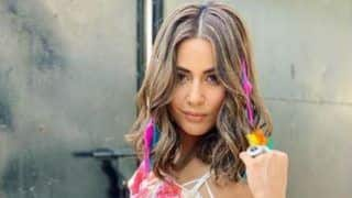 Komolika Aka Hina Khan Looks Her Sexiest Best in White Slit Top And Hot Pants - See Pictures