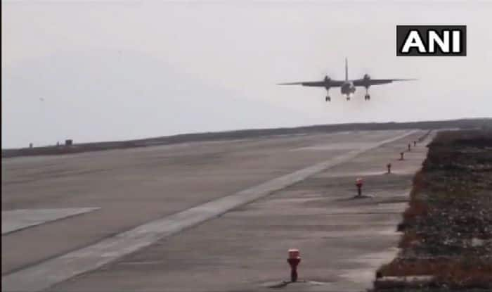 In a First, Indian Air Force's AN-32 Transport Aircraft Successfully Lands at Pakyong Airport in Sikkim
