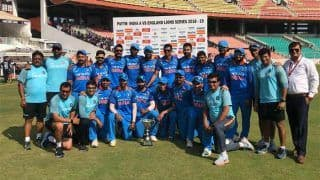 इंडिया ए ने इंग्लैंड को लॉयन्स के खिलाफ 4-1 से जीती वनडे सीरीज