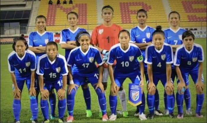 Indian women's football team_Picture credits-Twitter