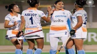 Hockey: Lalremsiami Scores a Brace as Indian Women's Hockey Team Beats Spain 5-2 to Level Series 1-1