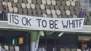 Big Bash League 2018-19: Cricket Australia Issues 'First And Final Warning' Over 'It's ok to be White' Banner in Perth
