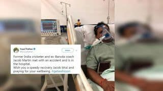 Former India Cricketer Jacob Martin Hospitalised After Severe Accident; Yusuf Pathan Wishes Speedy Recovery