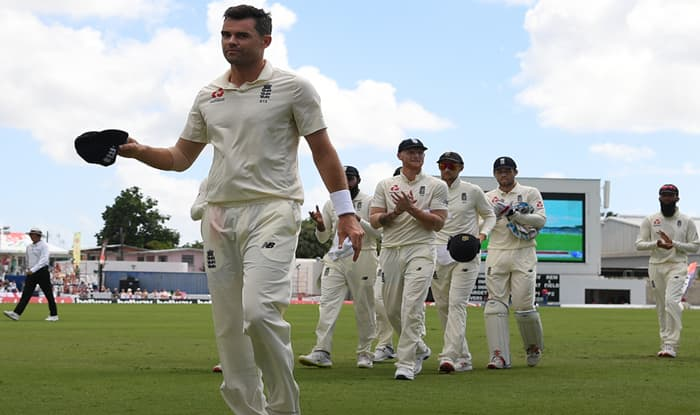 West Indies vs England 1st Test: James Anderson Equals Ian Botham Record With 27th Five-Wicket Hauls
