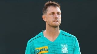 Injured Pacer James Pattinson Ruled Out Of The Big Bash League