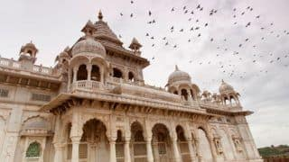 If You're in Jodhpur, You Must Visit The Regal Marble Mausoleum of Jaswant Thada