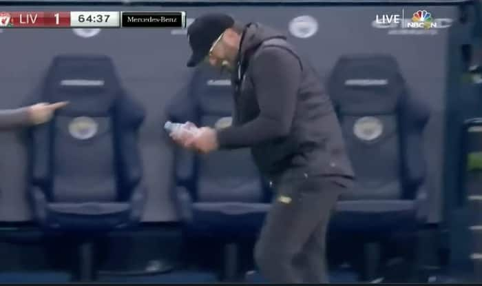 Jurgen Klopp's bottle celebration
