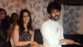 Kriti Sanon-Kartik Aaryan Groove to Their Latest Song 'Poster Lagwa Do' From Luka Chuppi as They Party Together - Watch