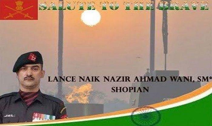 Soldier Lance Naik Nazir Wani to be Conferred Ashoka Chakra Posthumously