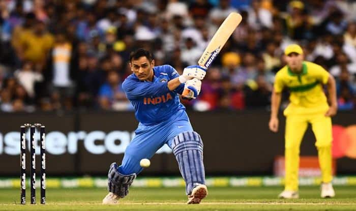 MS Dhoni 50s in australia 2019