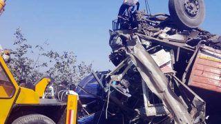 Maharashtra: 4 Killed, 5 Injured in Truck-car Collision Near Khopoli on Pune-Mumbai Expressway