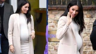 Duchess of Sussex Meghan Markle's $35 Maternity Dress Becomes The Rage Among Women