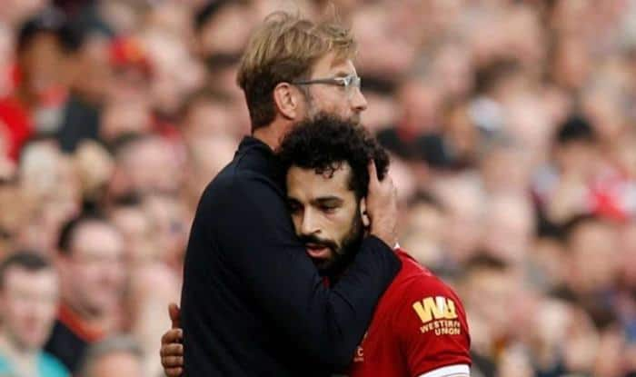 Mo salah defended by Jurgen Klopp after criticisms-picture credits-twitter