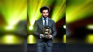 Mohamed Salah Wins African Player Of The Year Award For Second Consecutive Time
