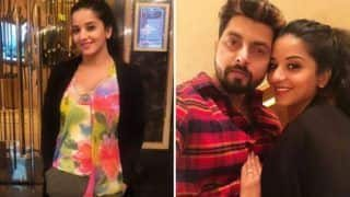 Bhojpuri Hot Bomb And Nazar Fame Monalisa Looks Sexy as She Spends Her Sunday With Hubby Vikrant Singh Rajpoot - See Pictures