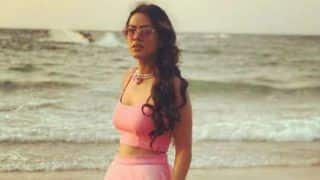 Second Sexiest Asian Woman, Nia Sharma Looks Uber Hot in Pink Outfit as She Takes a Walk on The Beach