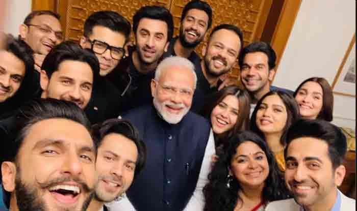 पीएम नरेंद्र मोदी से मिले रणवीर, आलिया और कई बॉलीवुड सितारे, सेल्फी में दिखे मुस्कुराते चेहरे