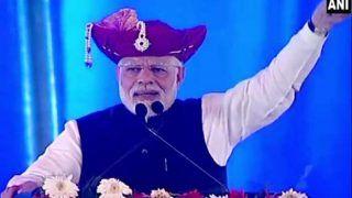 गुजरात: अहमदाबाद में पीएम मोदी ने कहा- मैं हूं आपका मजदूर नंबर वन